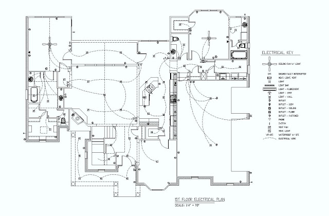 first floor electrical plan diagram electrical mechanical rh electrical tips blogspot com Home Electrical Wiring Diagrams Electrical Ladder Diagram