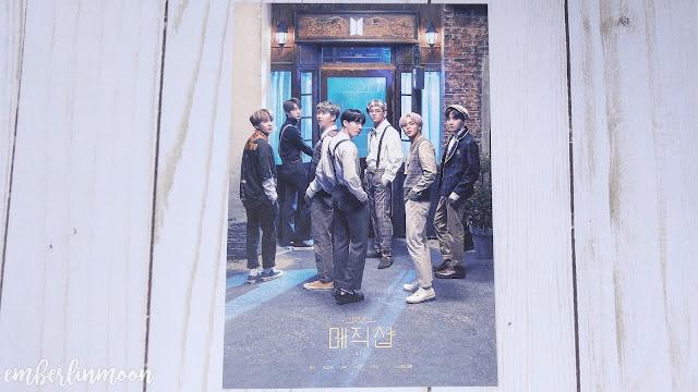 BTS 5th Muster DVD | Invitation Card