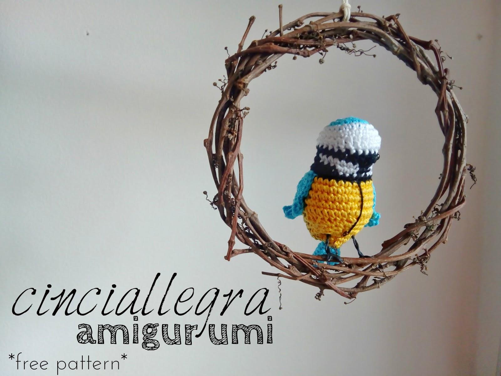 Cinciallegra Amigurumi Ita Free Pattern Amigurumiamo