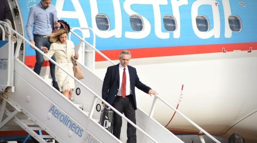 Alberto Fernández inicia su gira por Europa, donde visitará al papa Francisco en El Vaticano