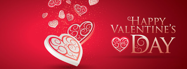 Valentine Day Heart Facebook Cover Photos