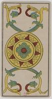 Ace of Pentacles, Tarot de Marseille, Public Domain.