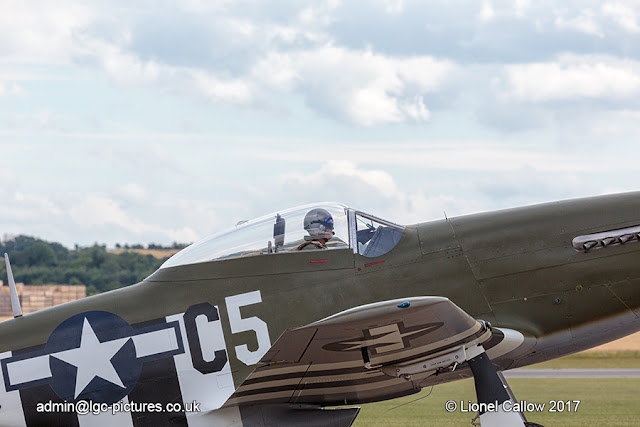 P51 Mustang cockpit