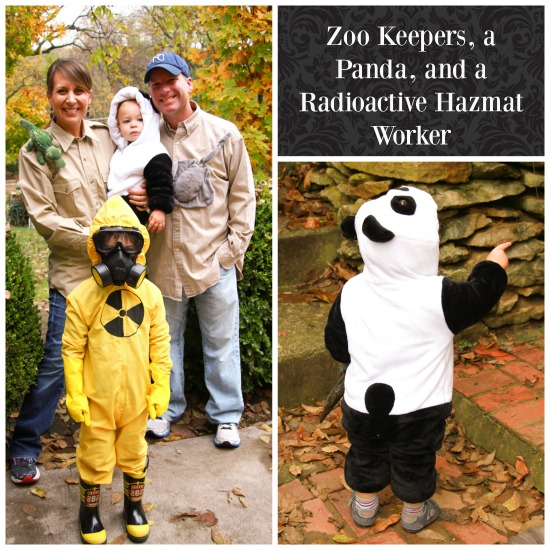 Midwestern mama past halloweens fun diy costume ideas and as much as i like to try and coordinate family costumes this year it just wasnt going to happen beckhams lovey was a panda bear so i really wanted solutioingenieria Images