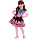 Monster High Party City Draculaura Outfit Small Child Costume