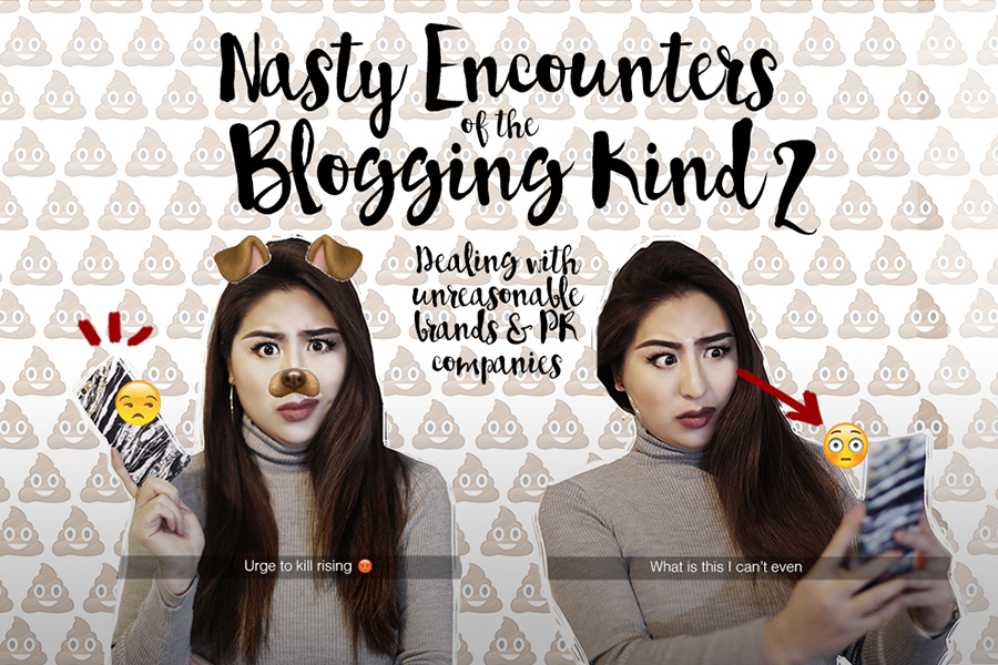 Nasty Encounters Of The Blogging Kind, Part 2: HOW I DEALT WITH RIDICULOUS DEMANDS FROM A BRAND AND A PR COMPANY