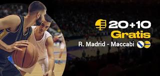 bwin promo Euroleague Real Madrid vs Maccabi 10-10-2019