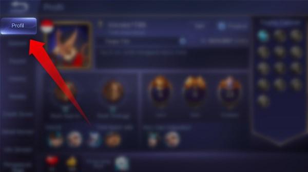 buka profil akun mobile legends