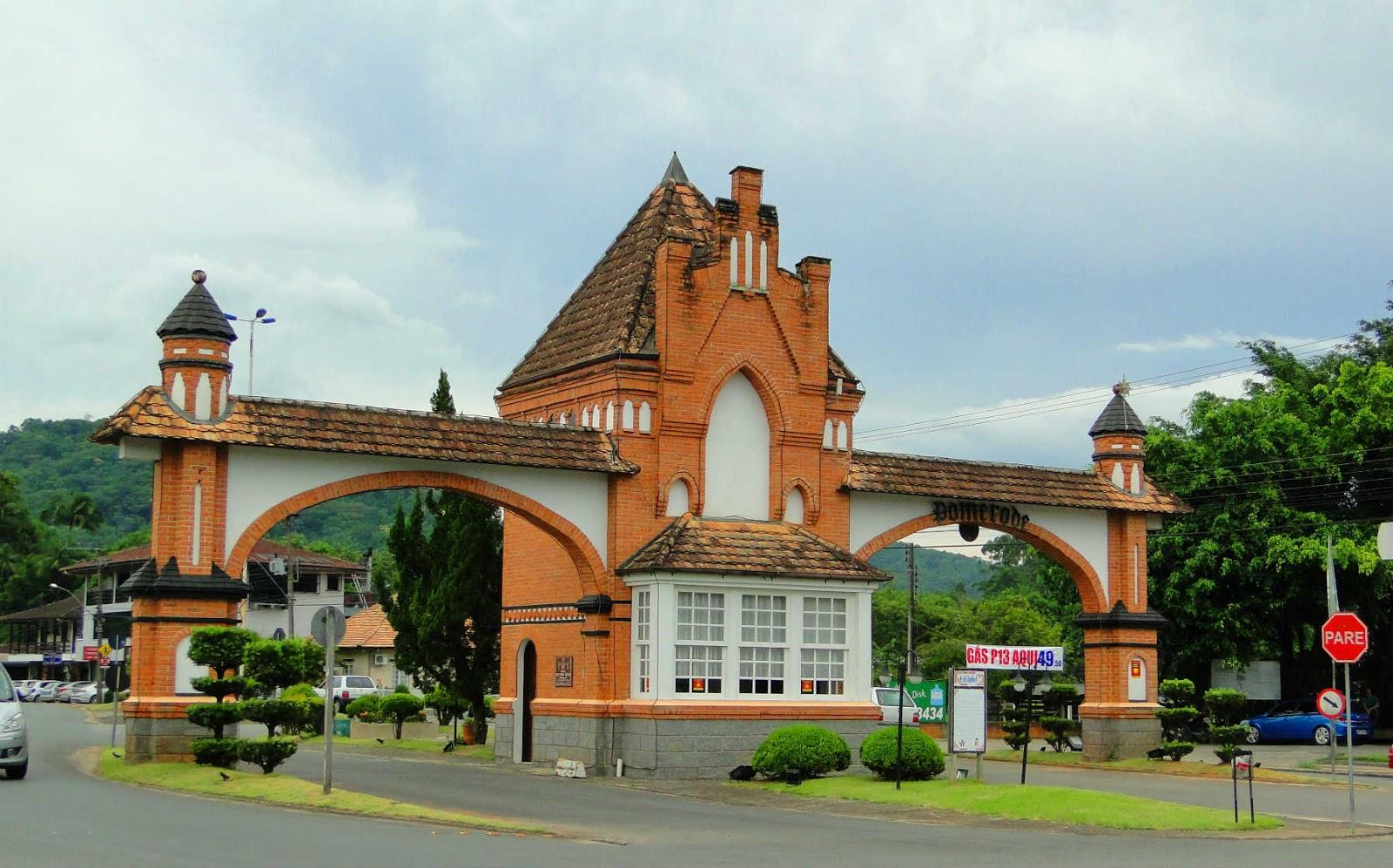 Portal Norte, Pomerode, Santa Catarina.