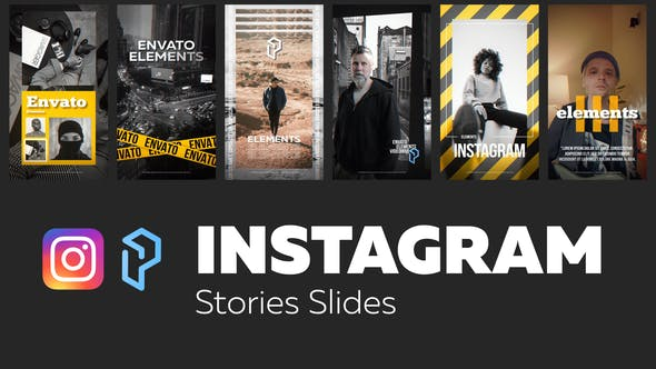 Instagram Stories Slides Vol. 8 | Free After effects templates