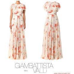 Princess Mette-Marit Style GIAMBATTISTA VALLI Dress