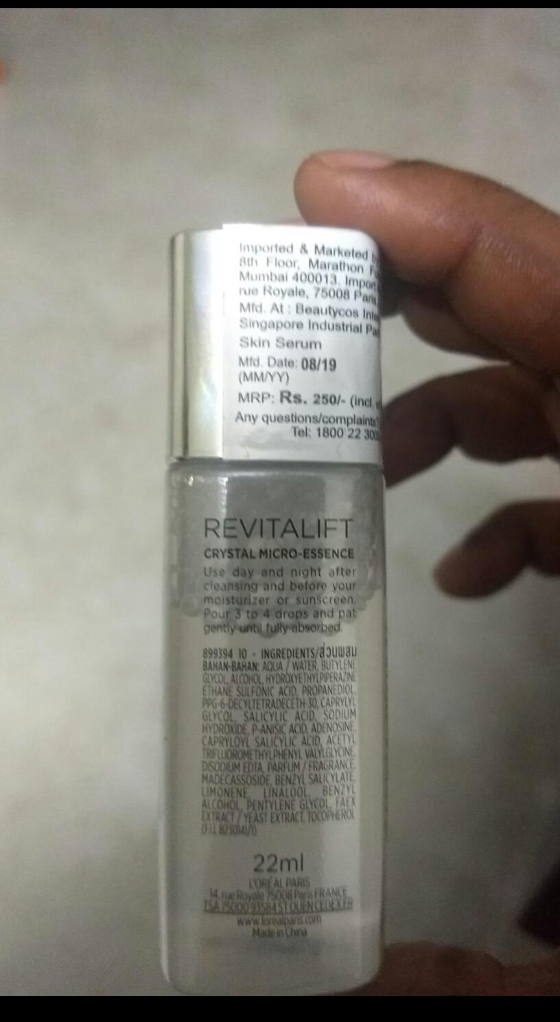 Loreal Paris Revitalift Micro Essences