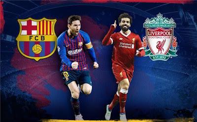 مشاهدة مباراة ليفربول وبرشلونة اليوم بث مباشر فى دورى ابطال اوروبا