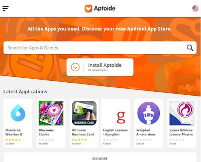 موقع Aptoide