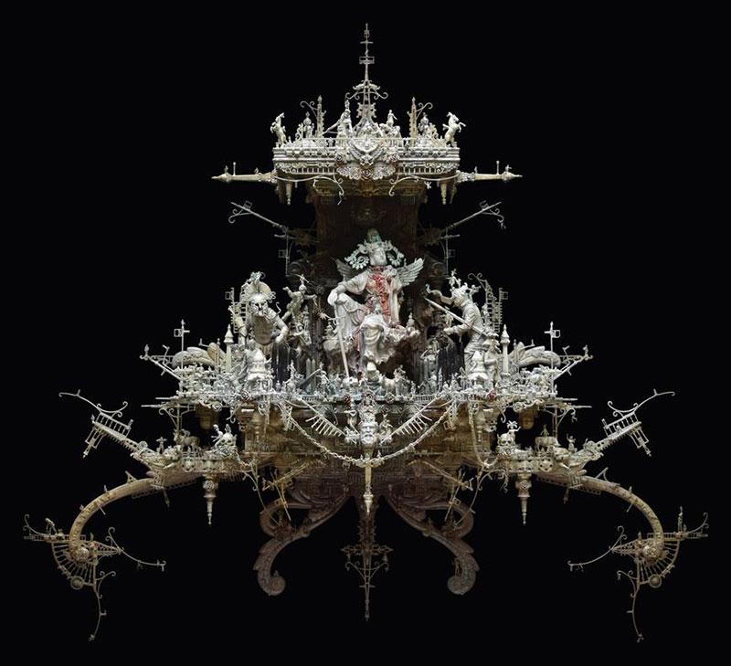 New Rome: Sculptures by Kris Kuksi