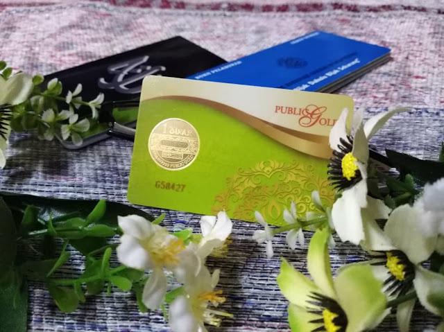 buku tabung haji, dinar public gold dan buku ASB