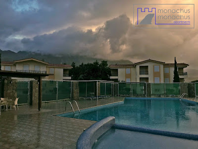 Rainy morning - Monachus Monachus Apartments