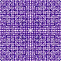 A symmetrical dot pattern in the rectangle.