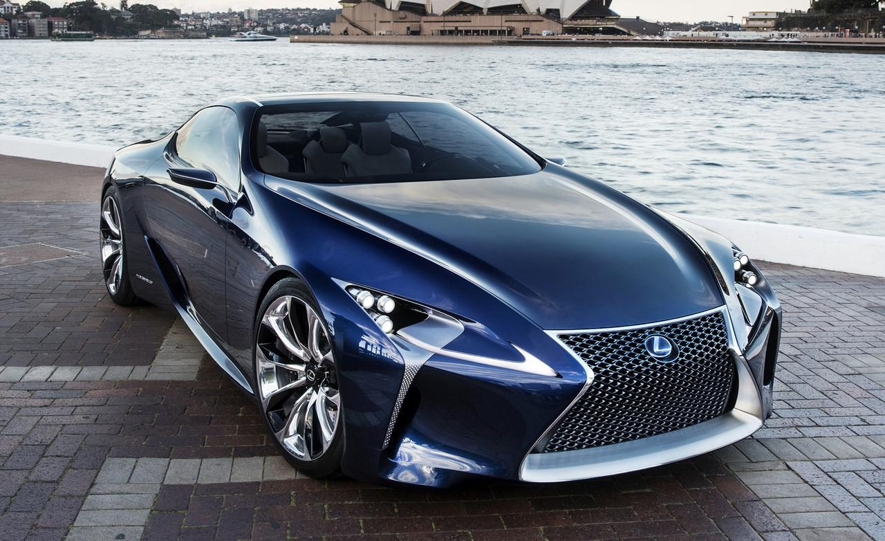 Lexus Lflc 2017 Sports Car