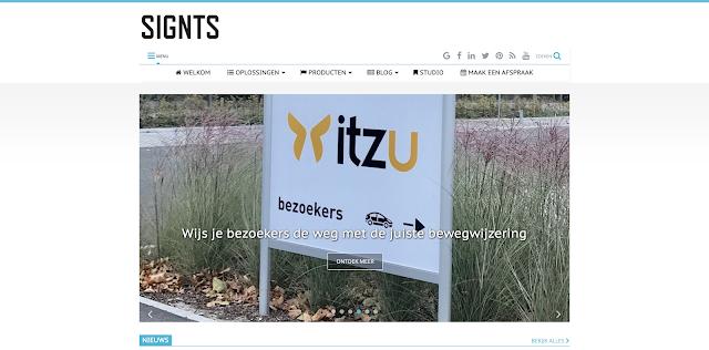 Signts, Smart-Blog, UP-TO-DATE Webdesign,