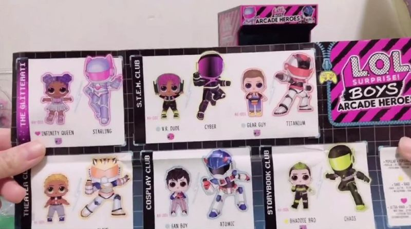 GEAR BOY TITANIUM LOL Surprise ARCADE HEROS Boys Doll 2020