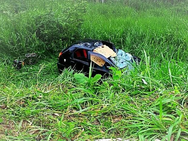 Acidente grave na BR 364 mata três pessoas na hora e deixa criança de 9 anos em estado grave. As vítimas eram antigos moradores de Ministro Andreazza que hoje moram em Goiânia.
