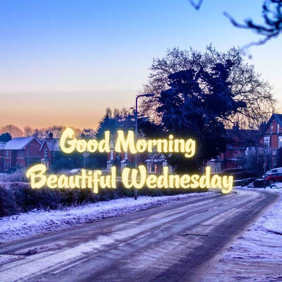 good morning wish wednesday