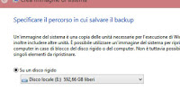 Crea subito un' immagine di backup di Windows 10 e 8