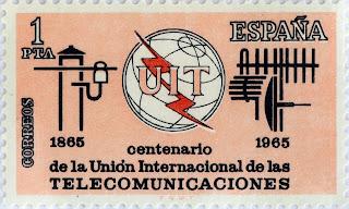 CENTENARIO DE LA UNIÓN INTERNACIONAL DE LAS TELECOMUNICACIONES