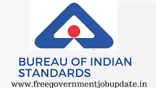 Bureau of Indian standards { bis }