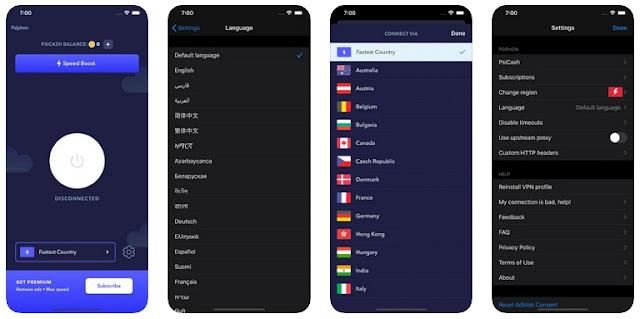 فتح المواقع المحجوبة للايفون - افضل تطبيقات VPN مجانا