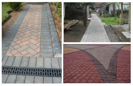 BISNIS PROPERTI: Mendisign konstruksi jalan Beton, Jalan aspal & jalan paving block serta