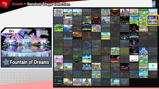 NintendoVS Challenge Cup September 2020 stages Super Smash Bros. Ultimate