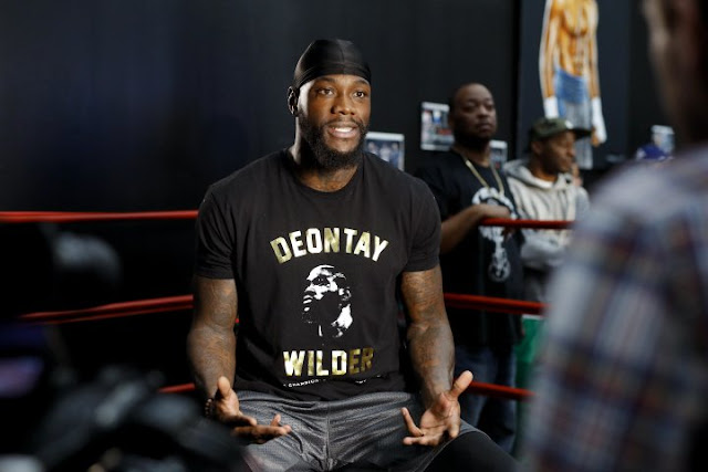 Deontay Wilder - Luis Ortiz open workout