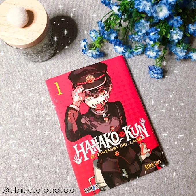 Reseña #66 - Hanako-Kun, el fantasma del lavabo, tomo 1.