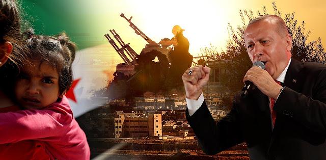 Ερντογάν: Στη Συρία δεν πήγαμε για το πετρέλαιο αλλά για τον άνθρωπο