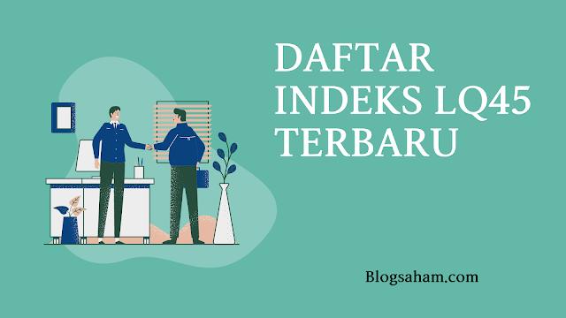 daftar indeks saham lq45