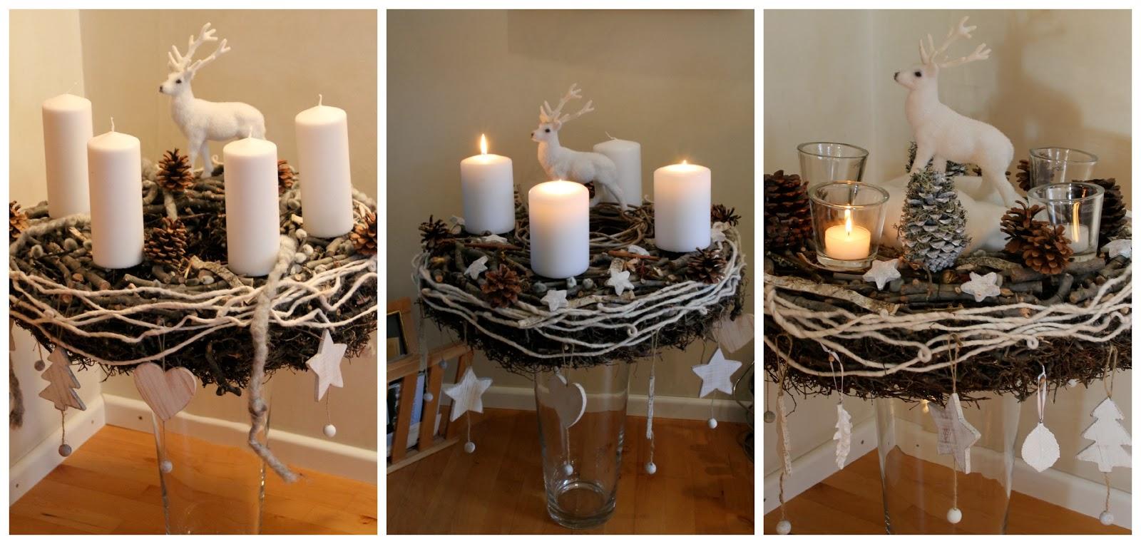 adventskranz die dritte version deko hoch drei. Black Bedroom Furniture Sets. Home Design Ideas