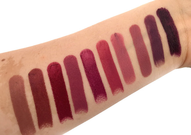 Swatch and Review of the Makeup Geek Iconic Lipstick Range