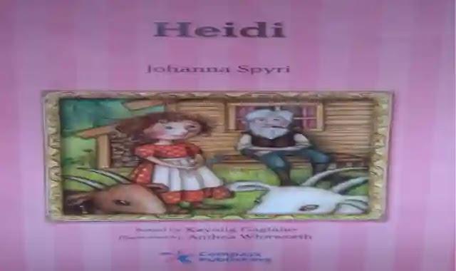 مذكرة اسئلة واجابات نموذجية علي قصة Heidi للكاتبة Johanna Spyri ملزمة وشيتات تدريبات على قصة Heidi للكاتبة Johanna Spyri