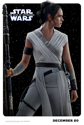Star Wars The Rise of Skywalker Rey poster