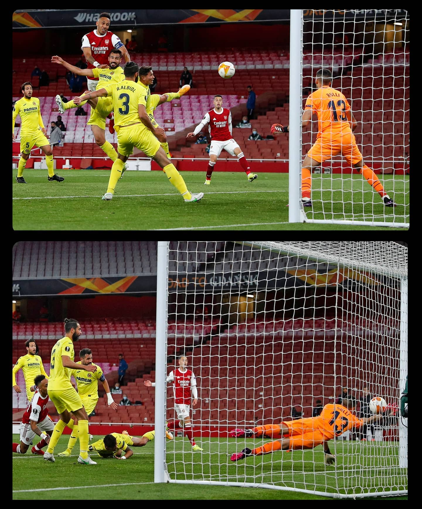 Arsenal nestapa, Villarreal sumringah, hasil semifinal Europa League!