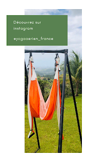 instagram yoga aérien france
