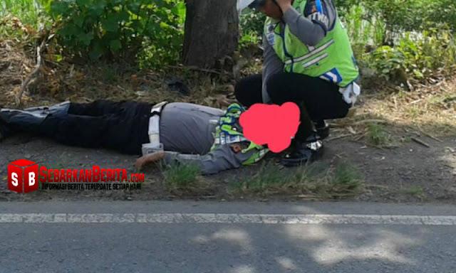 Polisi-Cirebon-setelah-ditabrak-saat-melakukan-razia