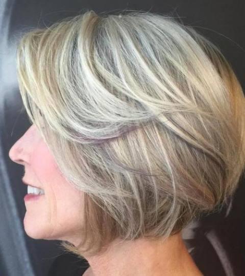 80 Potongan Rambut Wanita Untuk Usia Di Atas 50 Tahun Tips Rambut