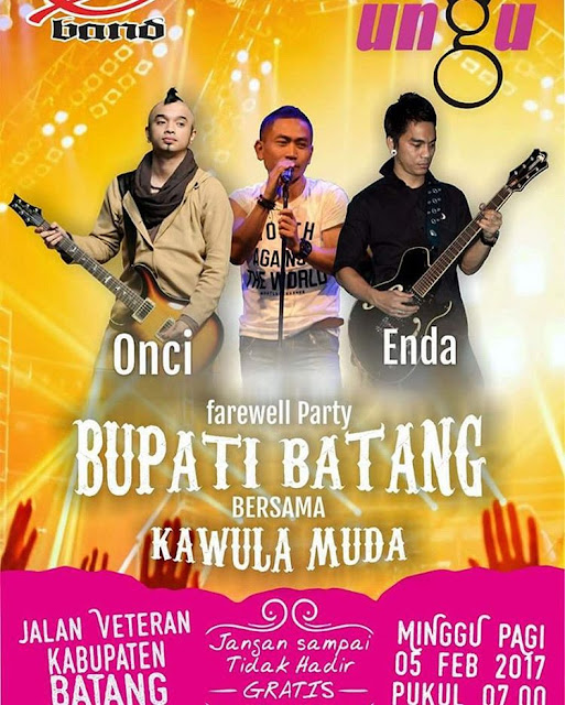 Ungu Band Live in Batang