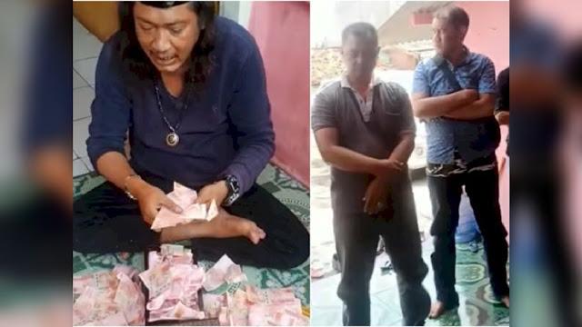 Ritual Penggandaan Uang di Bekasi, Diduga Disaksikan Polisi, Uang Tak Habis-habis