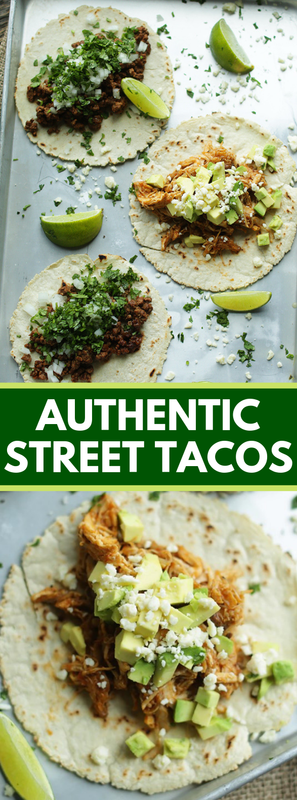 Authentic Street Taco Recipes #dinner #weeknightmeals