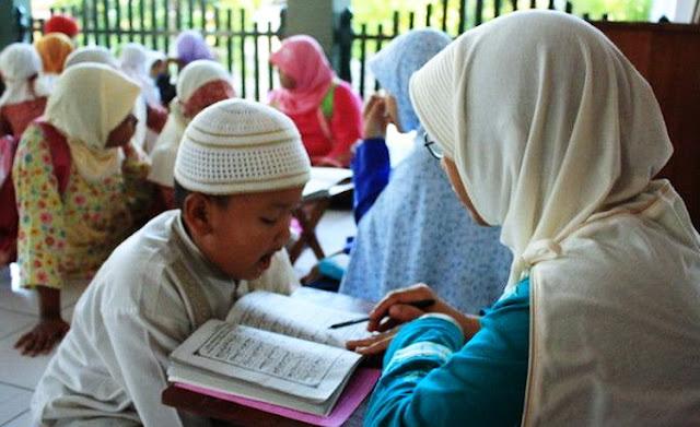 Jika Ada Kelebihan Rezeki Bantulah Guru Ngaji yang Kesusahan