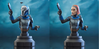 Star Wars: The Clone Wars Bo-Katan Kryze Mini Bust by Diamond Select Toys x Gentle Giant